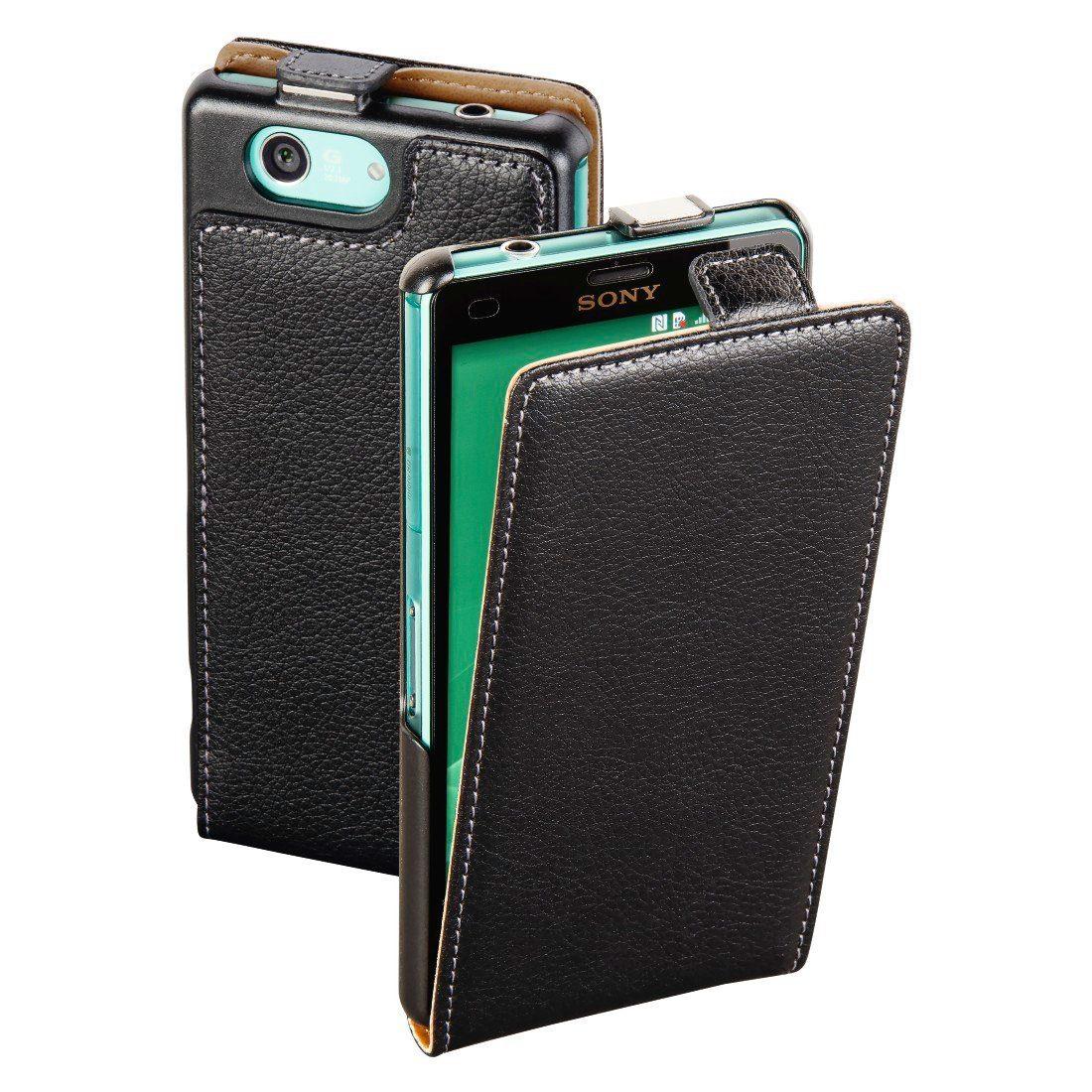 Hama Flap-Tasche Smart Case für Sony Xperia Z3 Compact, Schwarz