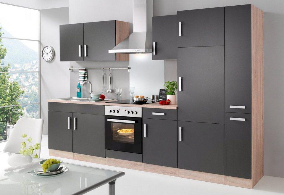held mÖbel küchenzeile mit e-geräten »toronto, breite 300 cm ... - Küche Toronto