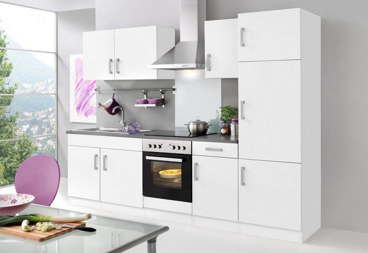 HELD MÖBEL Küchenzeile mit E-Geräten »Toronto, Breite 270 cm«