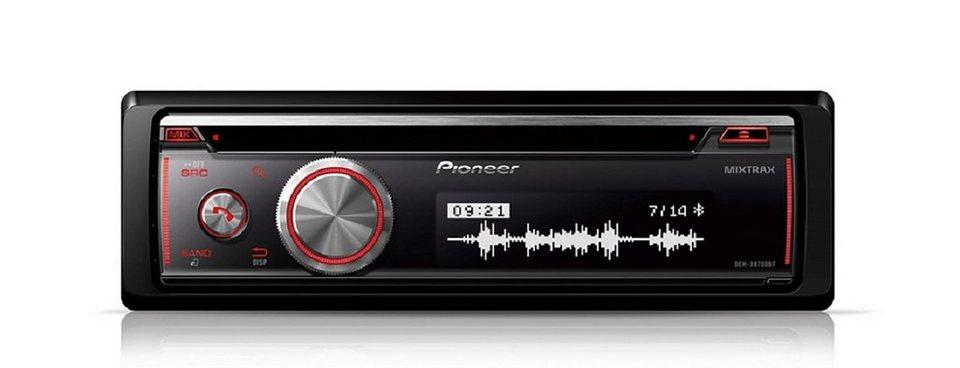 PIONEER 1-DIN CD-Autoradio mit RDS »DEH-X8700BT« in schwarz