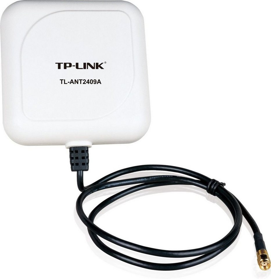 TP-LINK WLAN Antenne »TL-ANT2409A WLAN 2,4GHz 9dBi Richtstrahlantenne« in Weiß