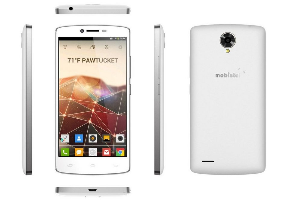 mobistel Smartphone »Cynus F8 weiß« in Weiß