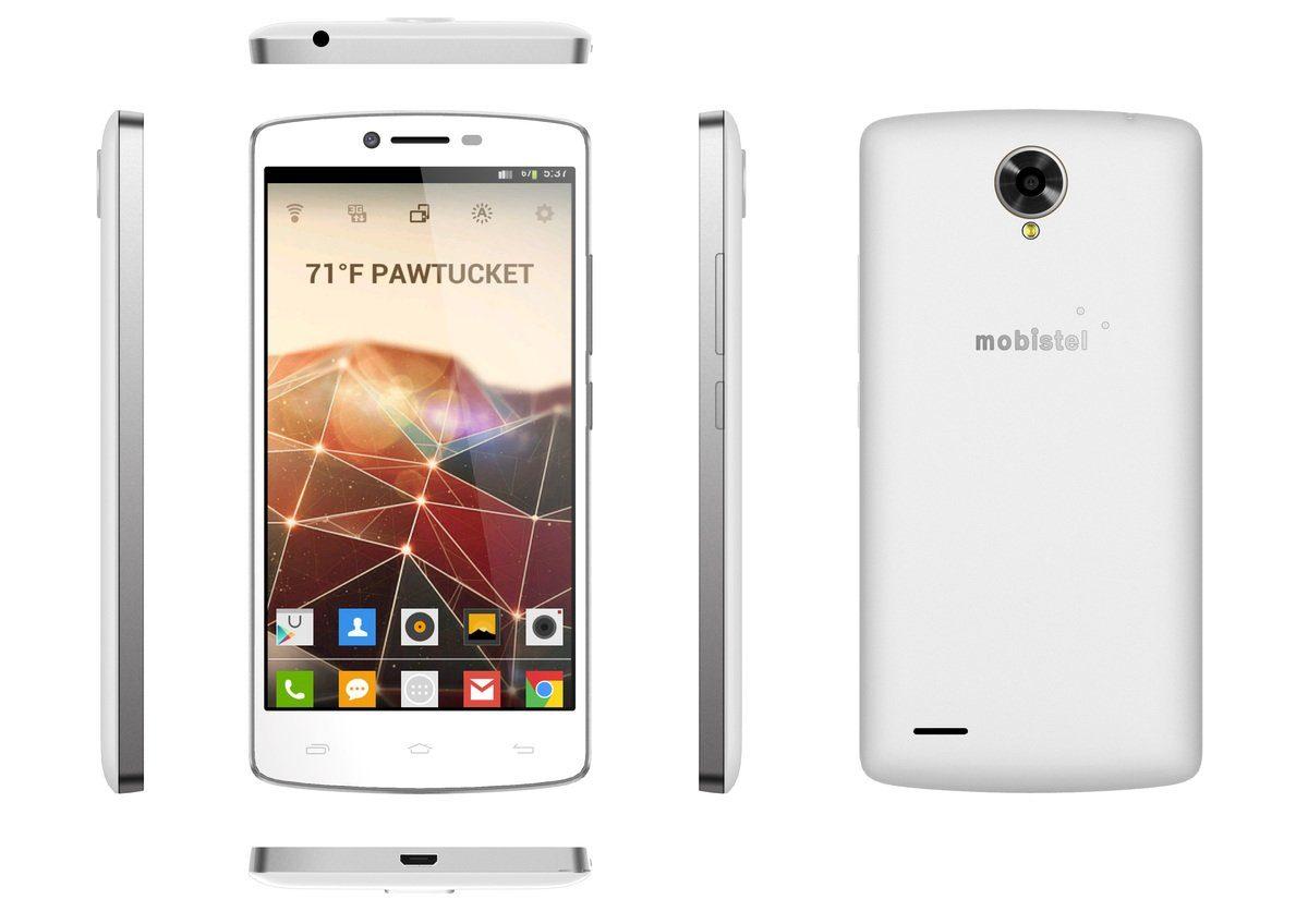 mobistel Smartphone »Cynus F8 weiß«