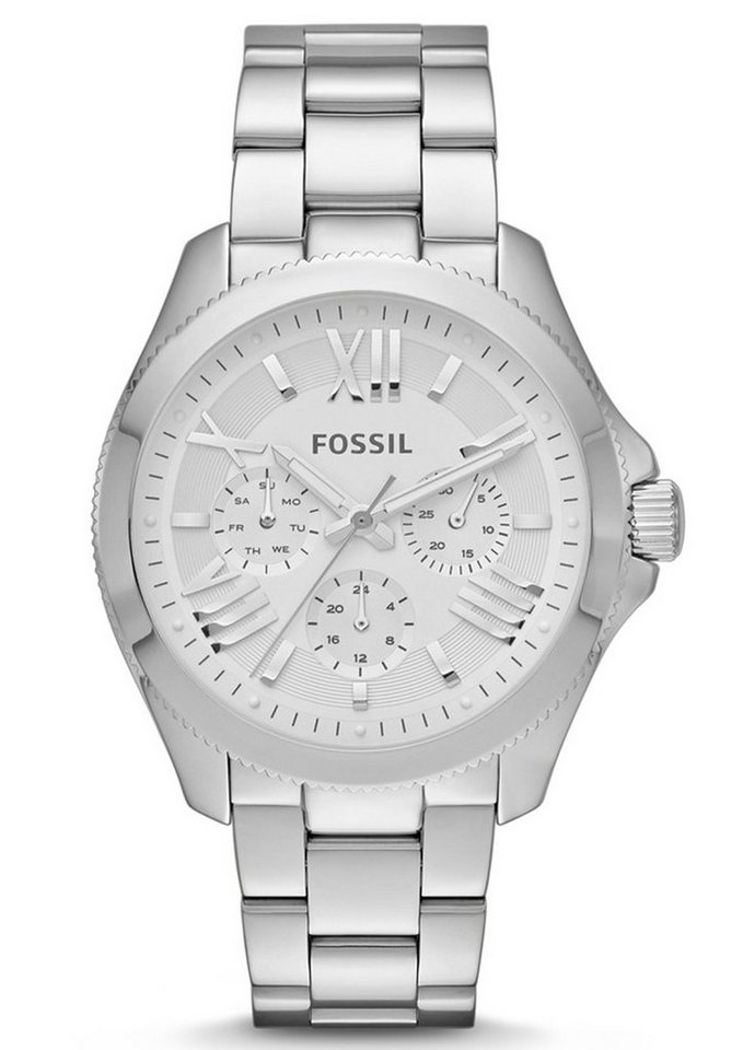"""Fossil, Multifunktionsuhr, """"CECILE, AM4509"""" in silberfarben"""