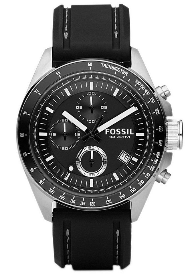 Fossil Chronograph »DECKER, CH2573« in schwarz
