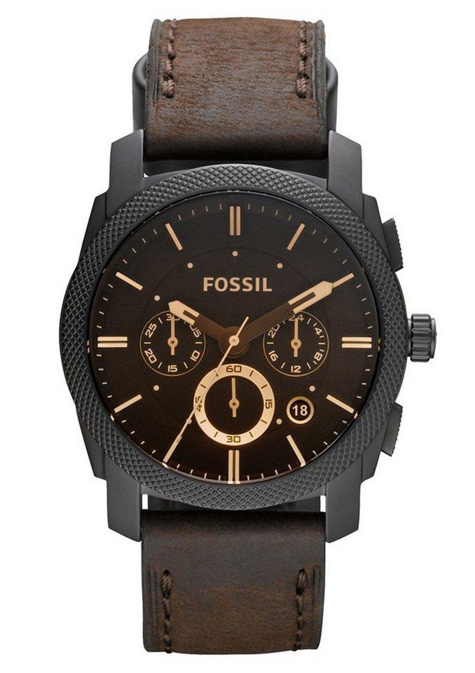 Fossil Chronograph »MACHINE, FS4656« | Uhren | Braun | Fossil