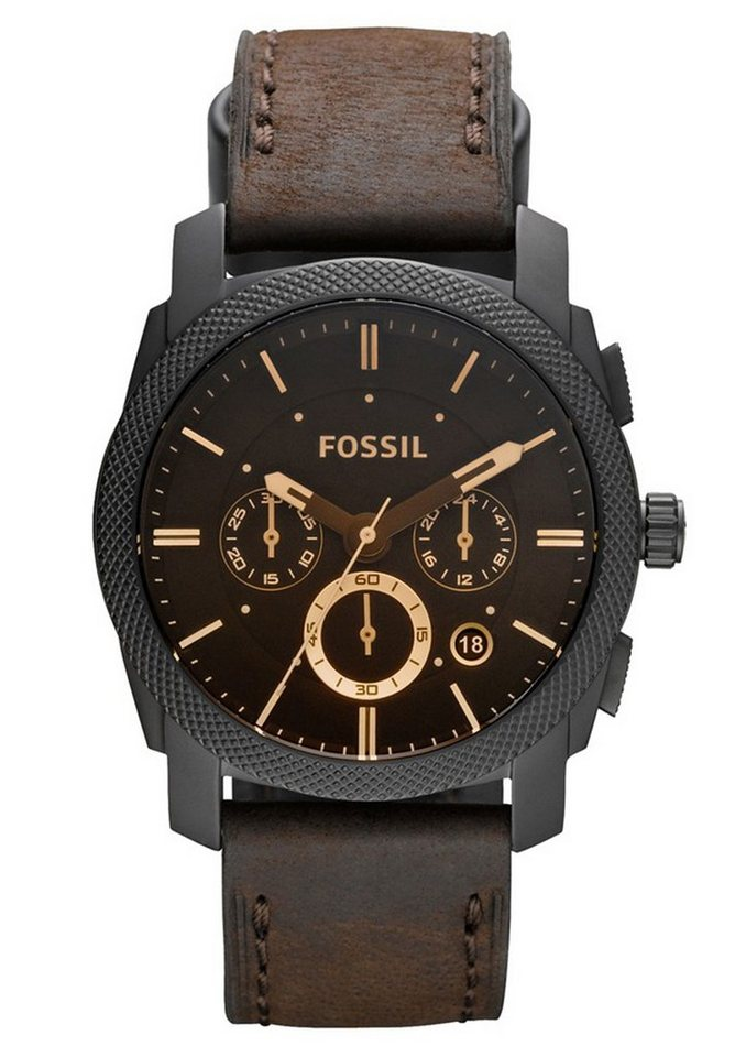 Fossil Chronograph »MACHINE, FS4656« in dunkelbraun