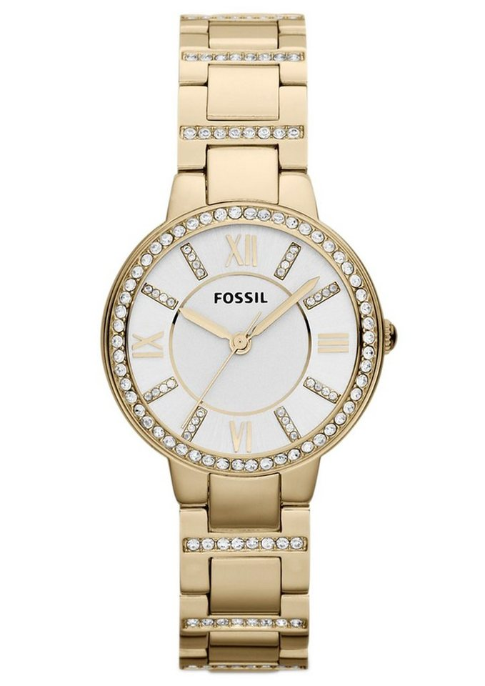 Fossil Quarzuhr »VIRGINIA, ES3283« in goldfarben