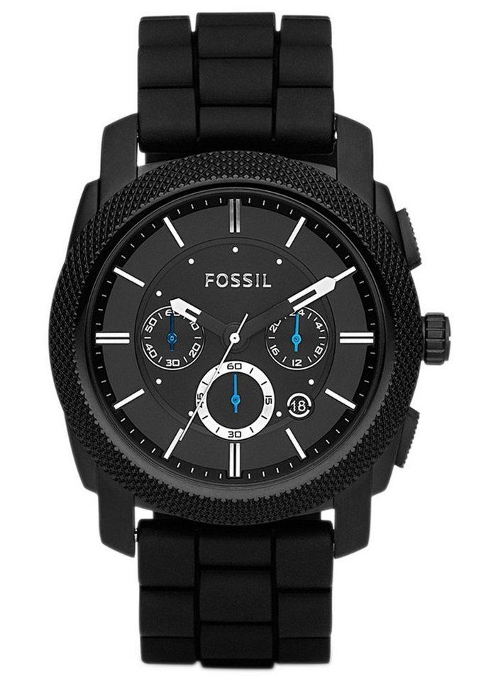 """Fossil, Chronograph, """"MACHINE, FS4487"""" in schwarz"""
