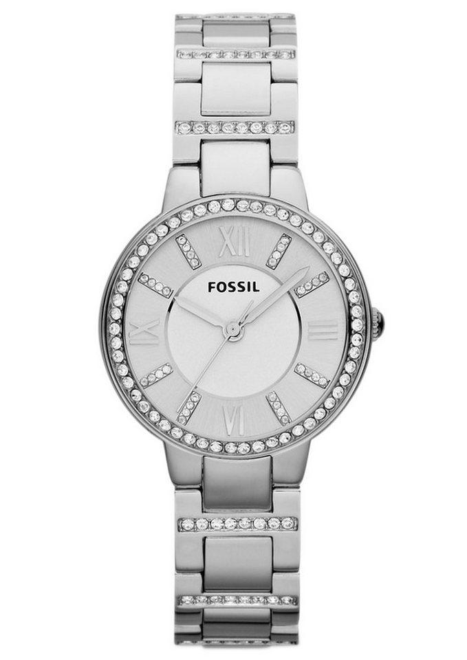 "Fossil, Armbanduhr, ""VIRGINIA, ES3282"" in silberfarben"