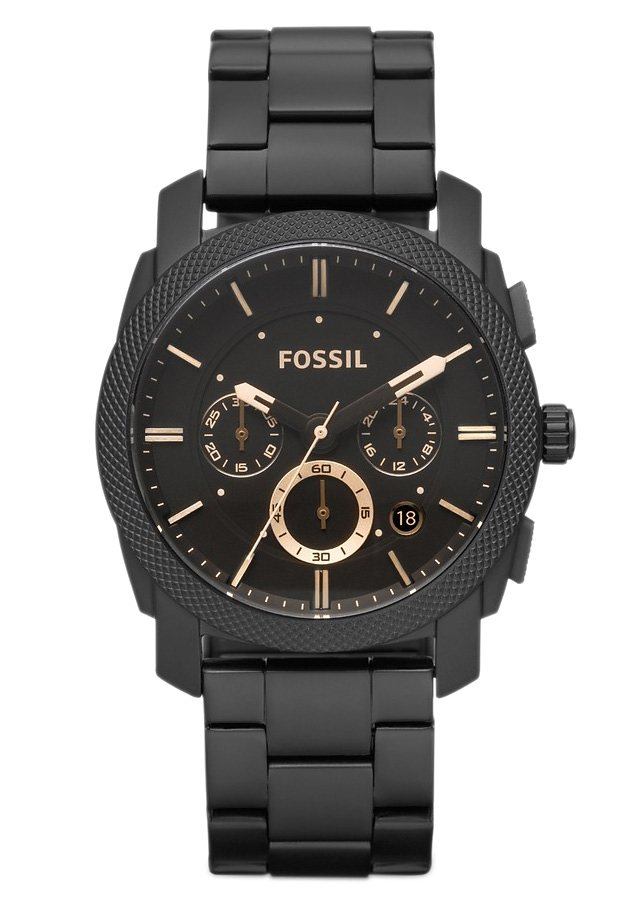 "Fossil, Chronograph, ""MACHINE, FS4682"" in schwarz"