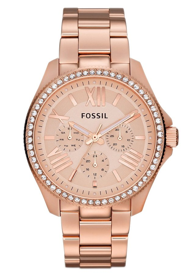 """Fossil, Multifunktionsuhr, """"CECILE, AM4483"""" in rosègoldfarben"""