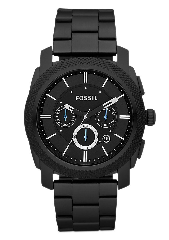 "Fossil, Chronograph, ""MACHINE, FS4552"" in schwarz"