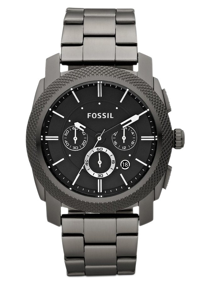"Fossil, Chronograph, ""MACHINE, FS4662"" in grau"