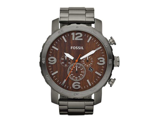 "Fossil, Chronograph, ""NATE, JR1355"""