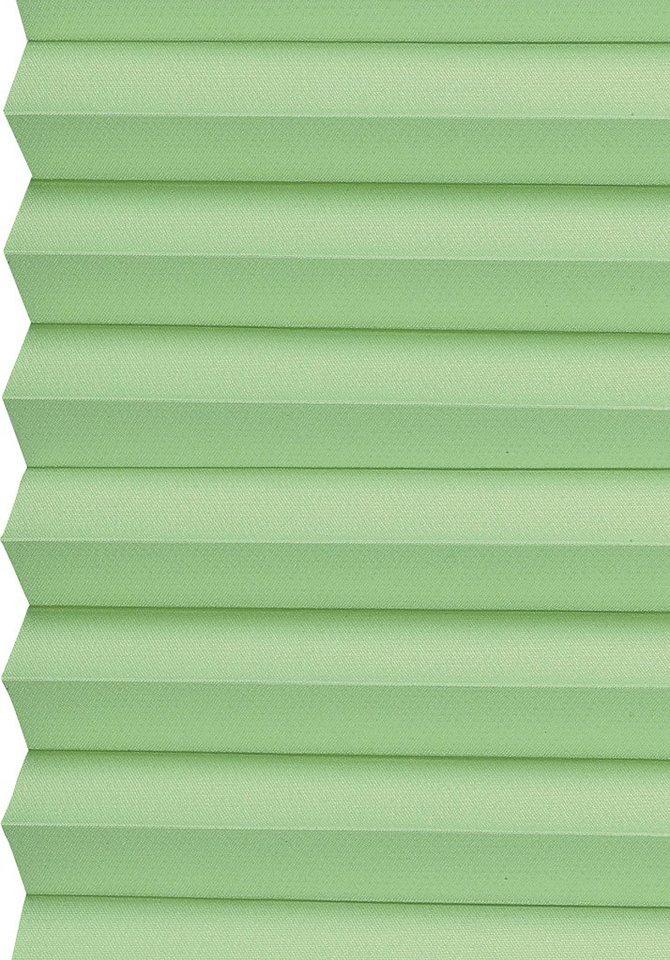Dachfenster-Plissee, Sunlines, »Medoc«, Faltenstore, Lichtschutz, Wunschmaß in maigruen
