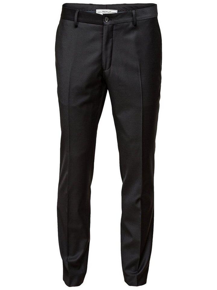 Jack & Jones Black Tailored Pants in BLACK
