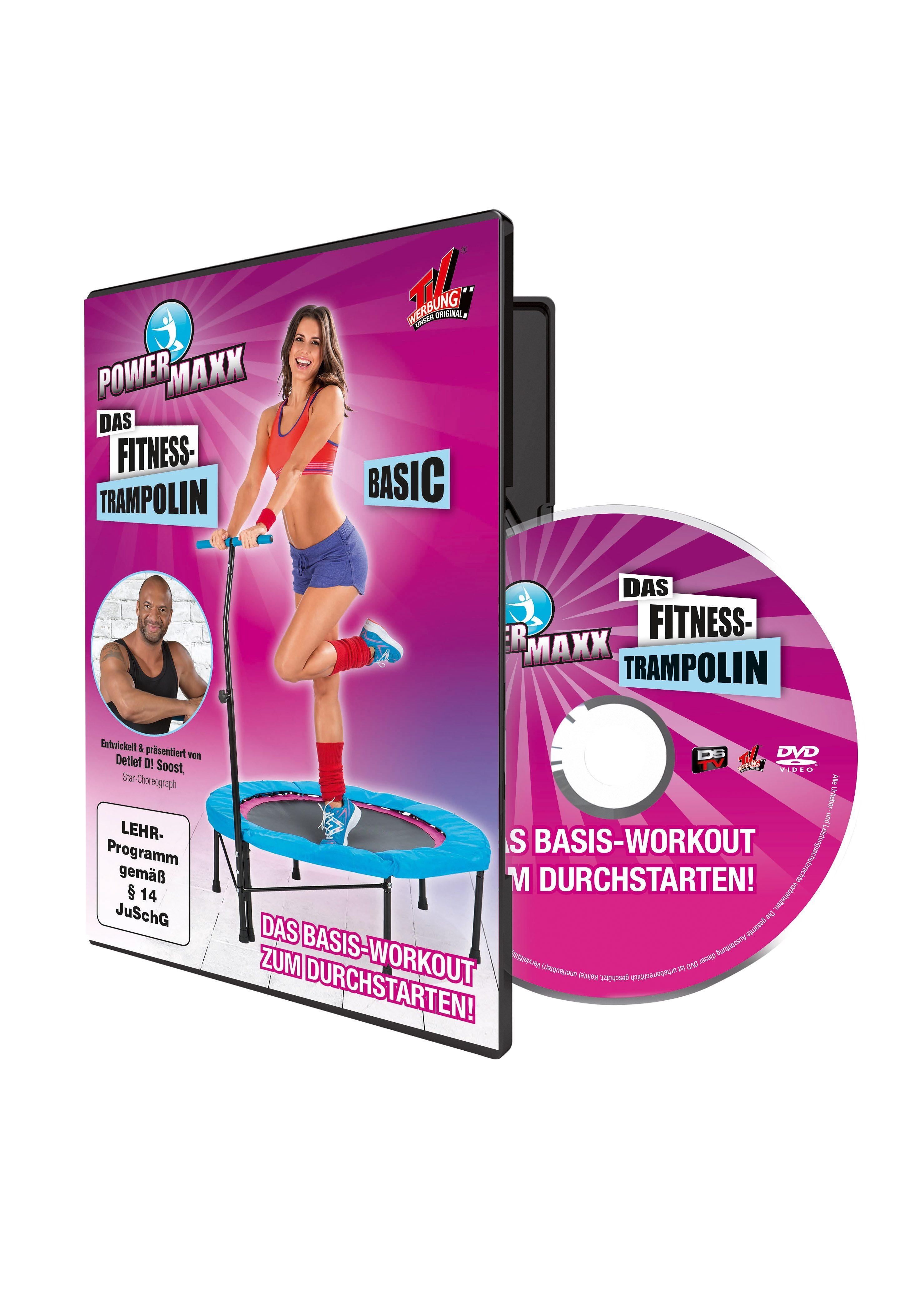 Trainings-DVD für Anfänger, Powermaxx. Das Basis-Workout zum Durchstarten.