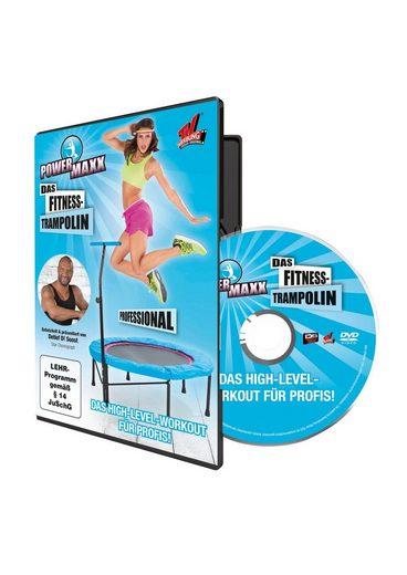 POWER MAXX Trainings-DVD »Powermaxx«, Das High-Level-Workout für Profis