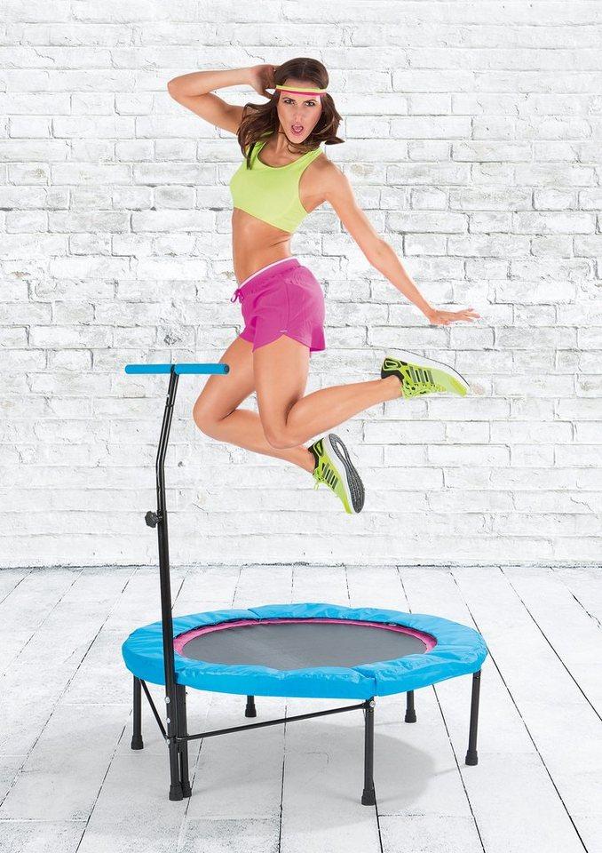 vitalmaxx trampolin set trampolin und 3er trainings dvd. Black Bedroom Furniture Sets. Home Design Ideas