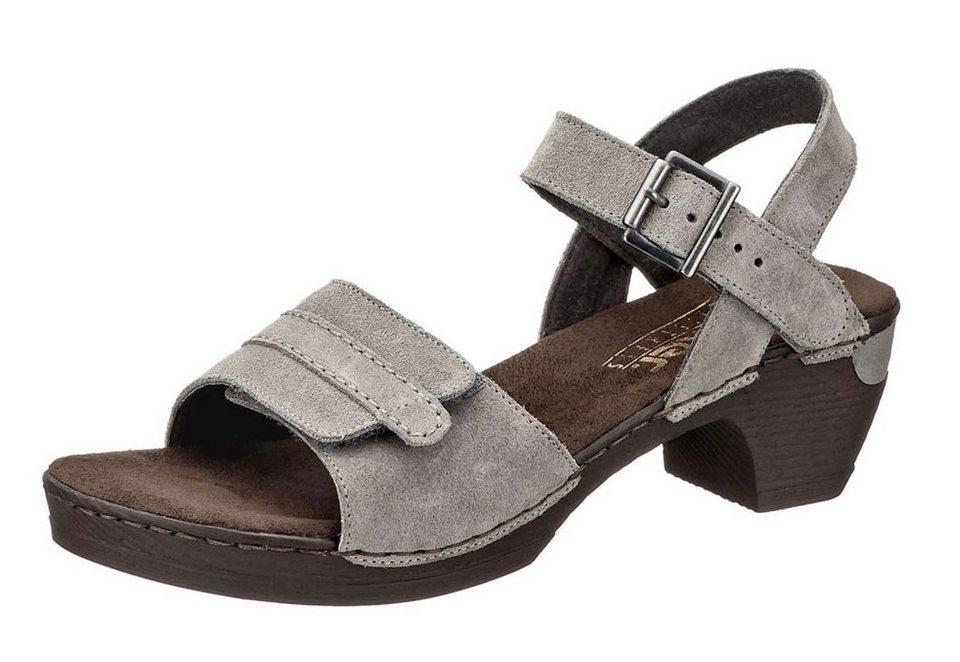 Sandalette, Rieker in grau