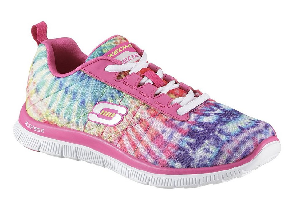 Skechers Schnürer mit Memory Foam in multicolor