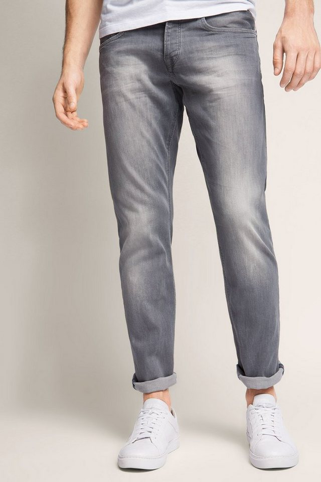EDC Stretchige Grey Denim in LIGHT GREY