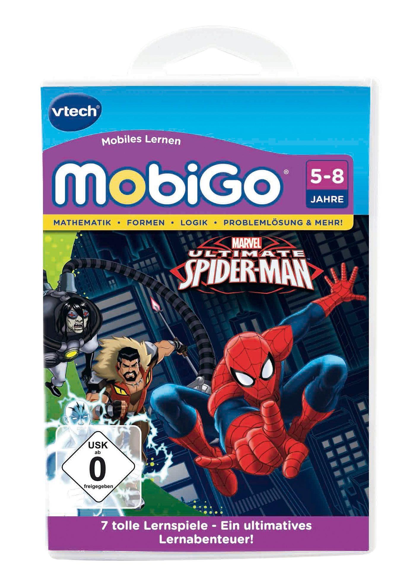 VTech Lernspiel, »MobiGo - Der ultimative Spiderman«