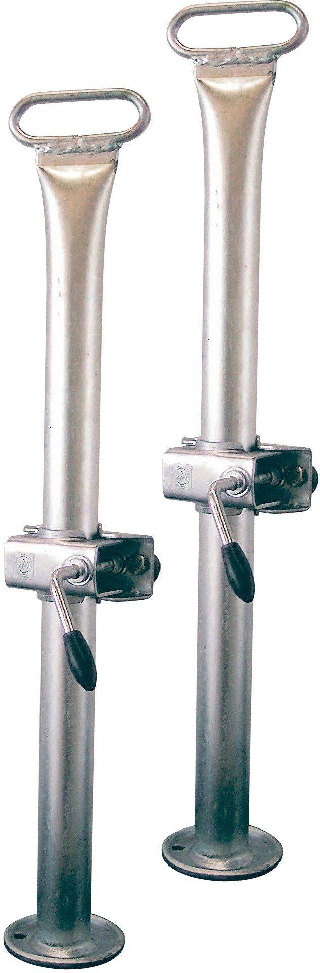 Anhänger-Abstellstütze »Abstellstützenpaar inkl. Klemmschelle und Halterung«