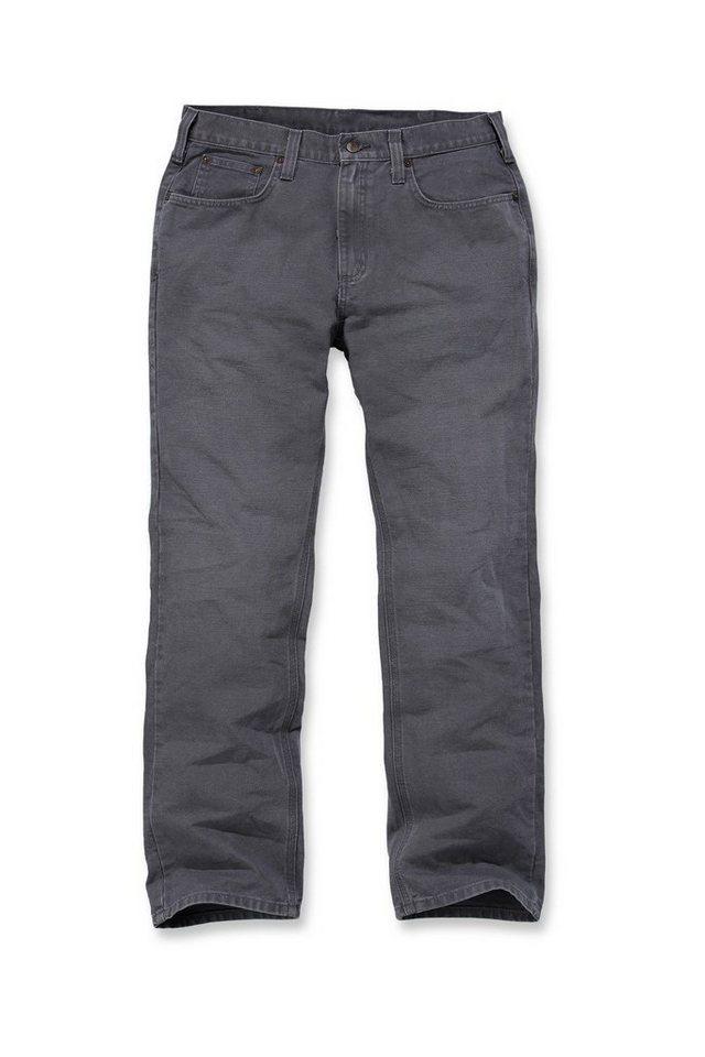 Bundhose Arbeitshose »Weathered Duck 5-Pocket Pant« in grau