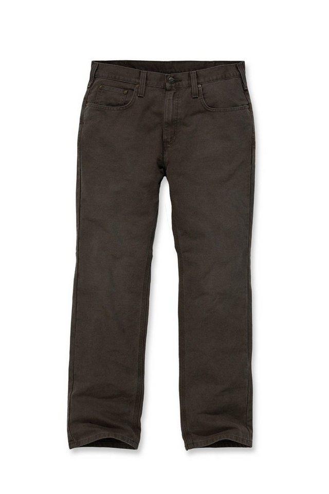 Bundhose Arbeitshose »Weathered Duck 5-Pocket Pant« in braun