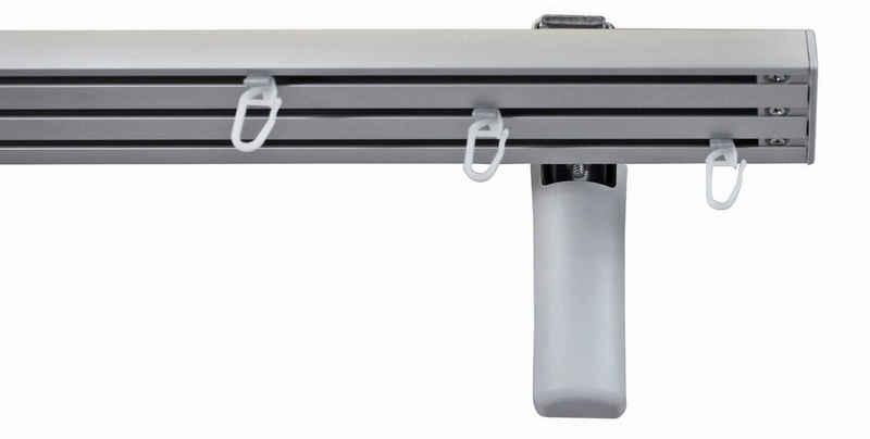 Gardinenschiene »Compact Wandmontage«, GARESA, 3-läufig, Wunschmaßlänge
