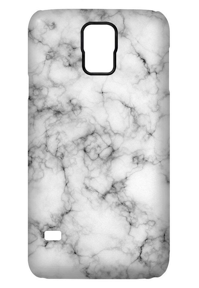 """caseable Premium Hülle für das Samsung Galaxy S5 »- """"White Marble"""" von caseable Design«"""