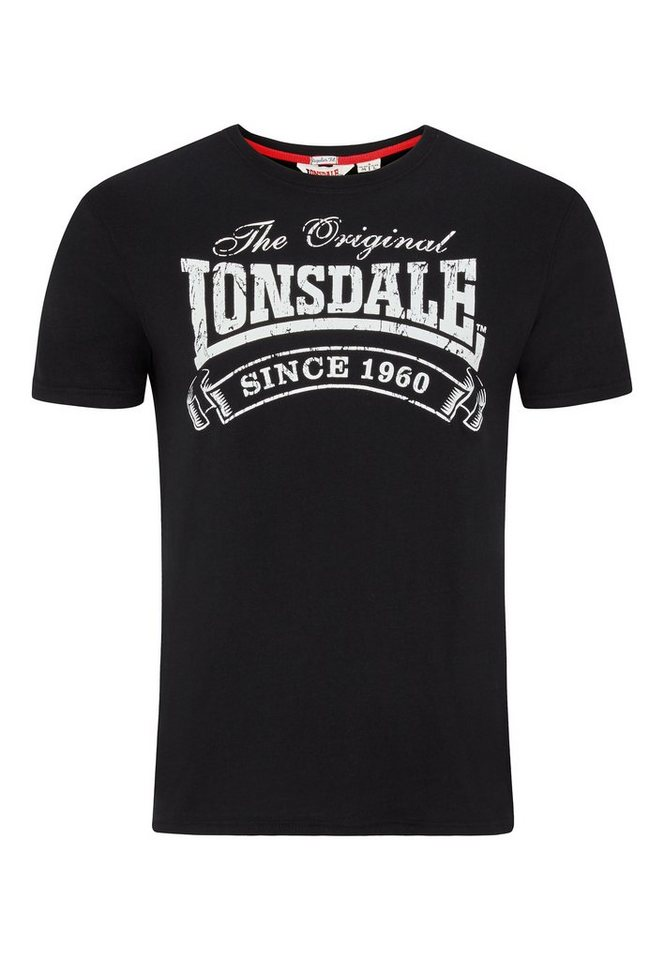 Lonsdale T-Shirt »MARTOCK« in Black