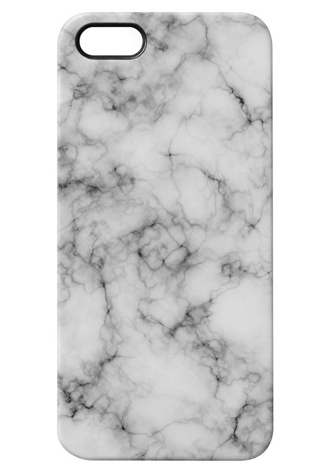 """caseable Premium Hülle für das iPhone 5 »- """"White Marble"""" von caseable Design«"""