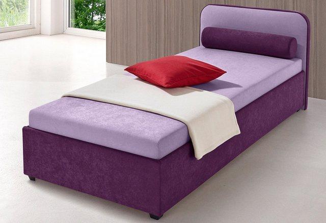 Maintal Polsterbett| wahlweise mit Bettkasten | Schlafzimmer > Betten > Polsterbetten | Lila | Maintal