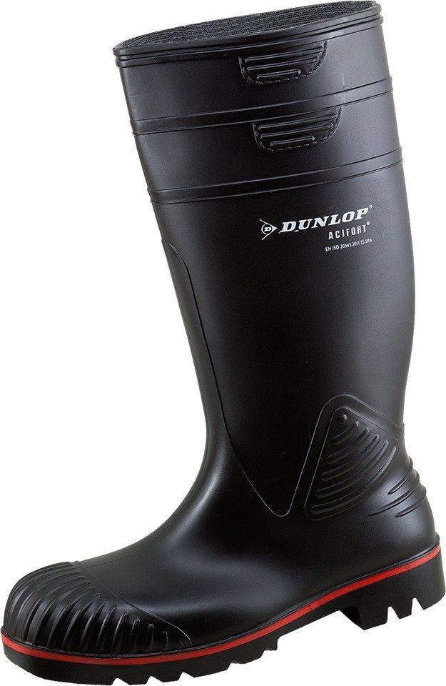 Dunlop Acifort S5 Stiefel in schwarz