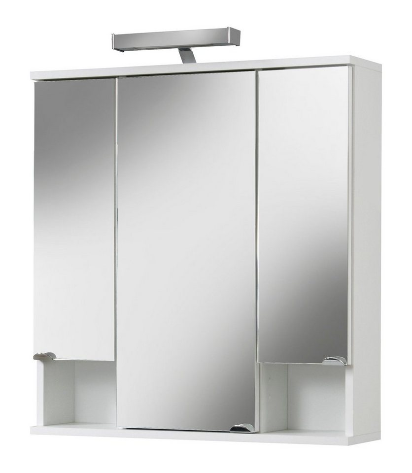 spiegelschrank cadiz breite 67 cm mit led beleuchtung. Black Bedroom Furniture Sets. Home Design Ideas