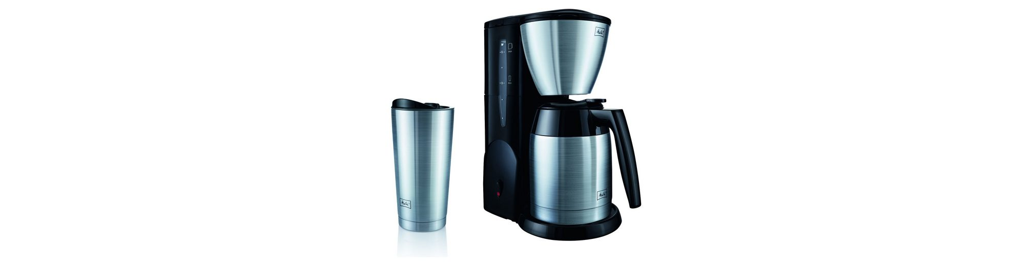 Melitta Filterkaffeemaschine Single5® Therm und Becher M728, 600 Watt