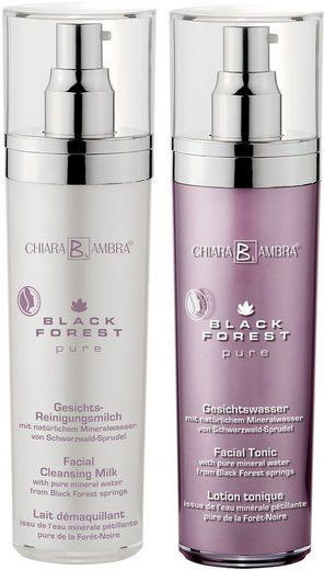 CHIARA AMBRA Gesichtspflege-Set »Black Forest Pure«, 2-tlg., vegan