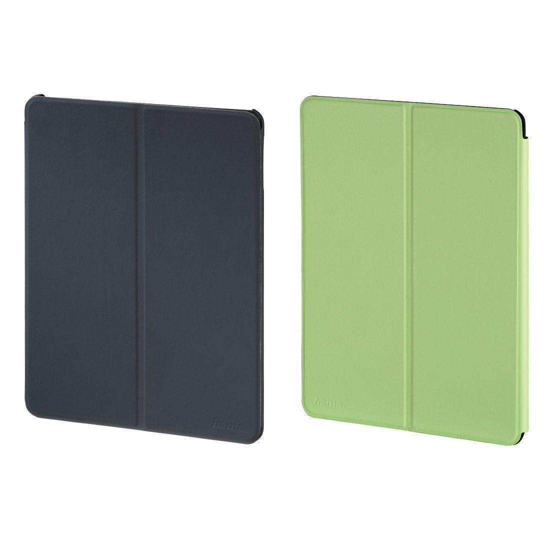 Hama Portfolio Twiddle für Apple iPad Air 2, Grau/Grün