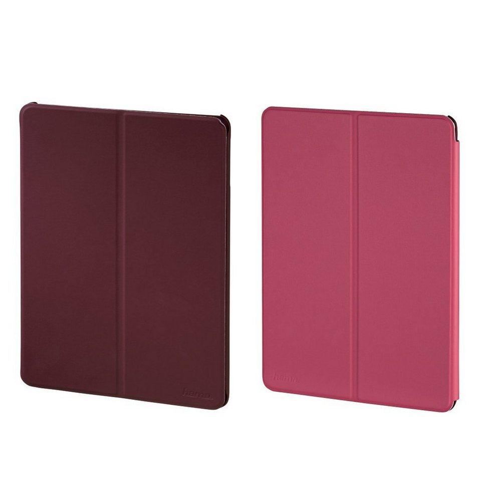 Hama Portfolio Twiddle für Apple iPad Air 2, Lila/Pink in Rot