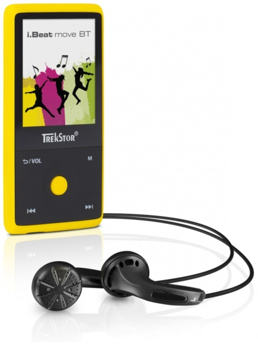TrekStor MP3-Player »i.Beat move BT 8GB, gelb«