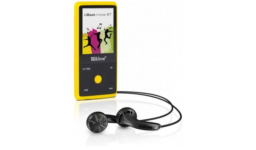 TrekStor MP3-Player »i.Beat move BT 8GB, gelb«