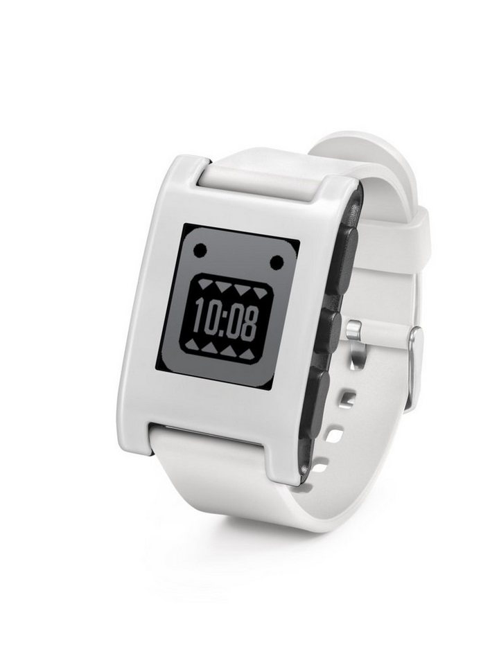 Pebble Smartwatch »Classic Smart Watch« in Weiß