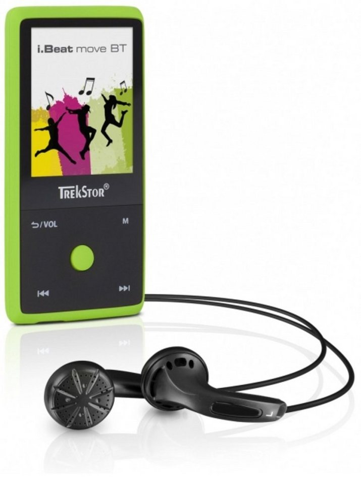TrekStor MP3-Player »i.Beat move BT 8GB, mamba green« in Grün