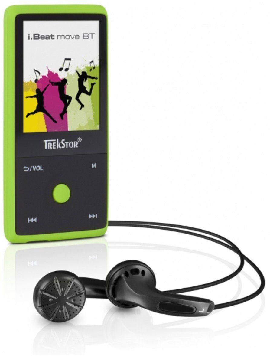 TrekStor MP3-Player »i.Beat move BT 8GB, mamba green«
