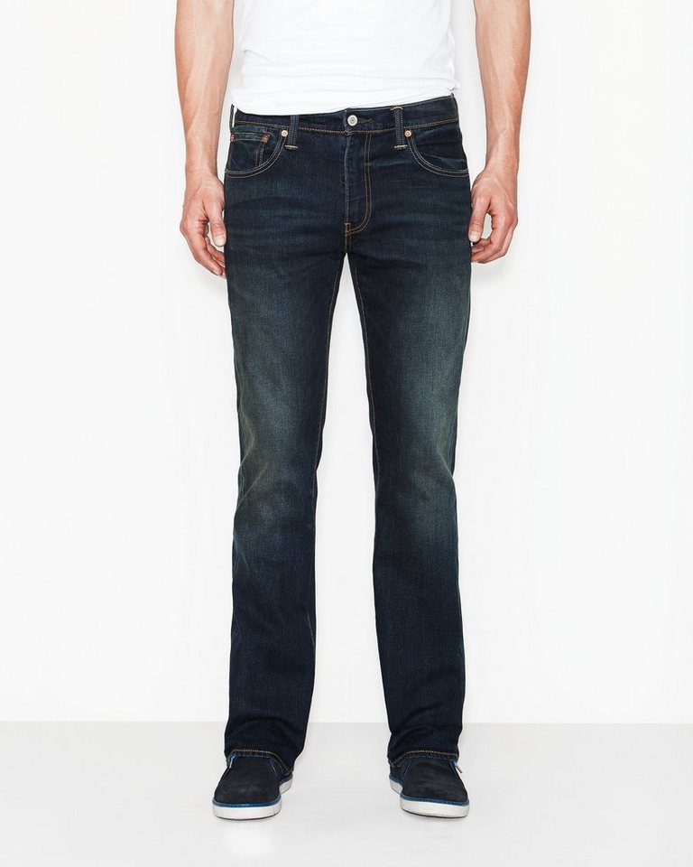 Levi's® Jeans »527 Low Boot Cut« in green edge