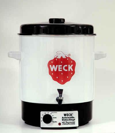 Weck Einmachglas »Weck Einkochautomat WAT 14A für Weckgläser, Glühweintopf, 29 Liter, emailliert«