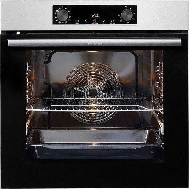 Küchengroßgeräte - GORENJE Backofen Set Pyrolyse Induktion, mit 1 fach Teleskopauszug, ecoClean  - Onlineshop OTTO